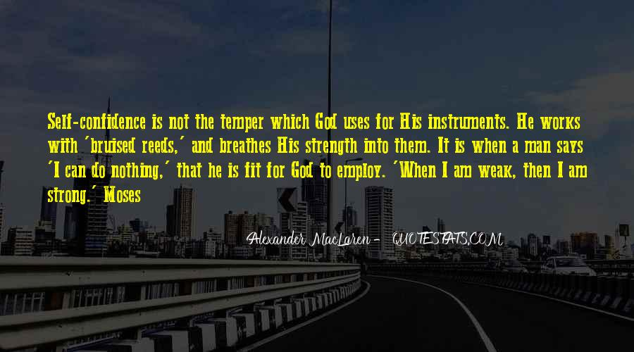 God Is The Strength Quotes #294325
