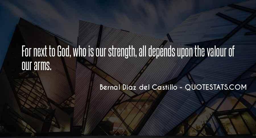 God Is The Strength Quotes #473418