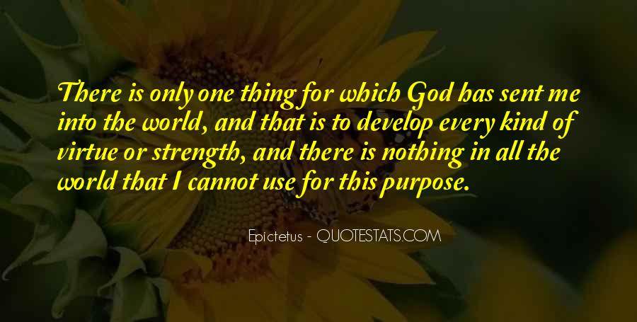 God Is The Strength Quotes #543227
