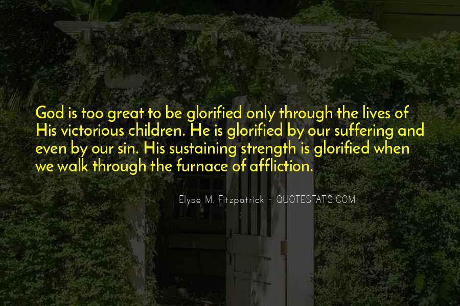 God Is The Strength Quotes #610991
