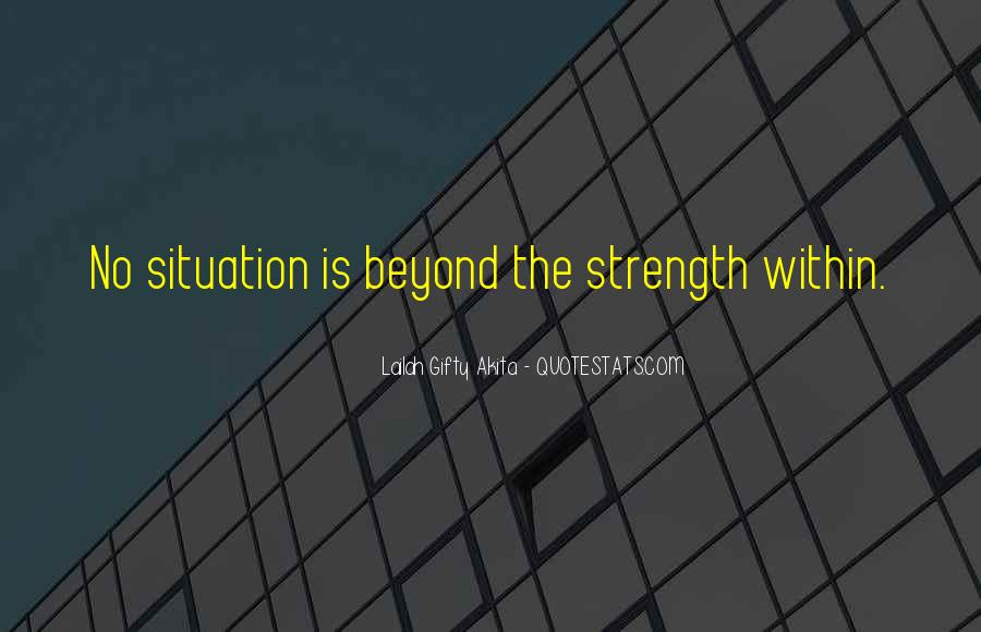God Is The Strength Quotes #691161
