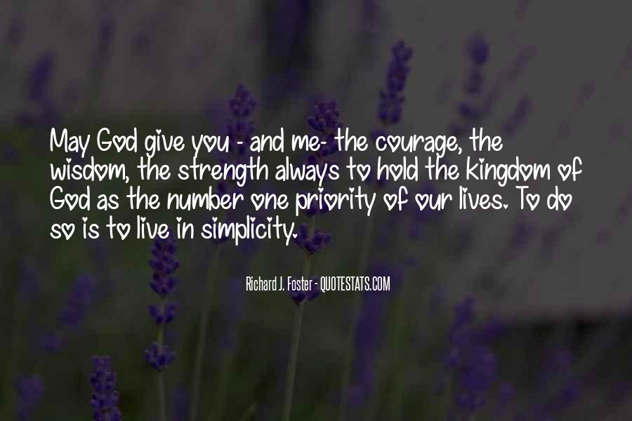 God Is The Strength Quotes #706156