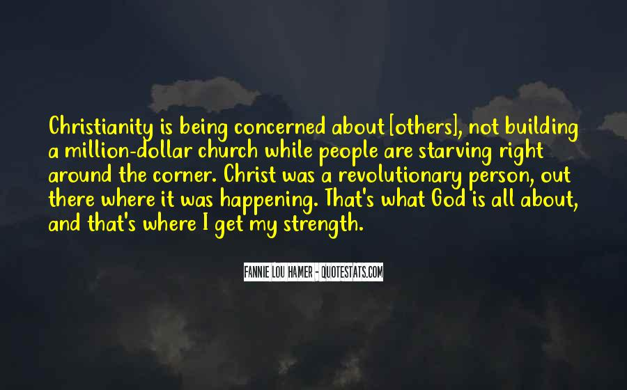 God Is The Strength Quotes #833815