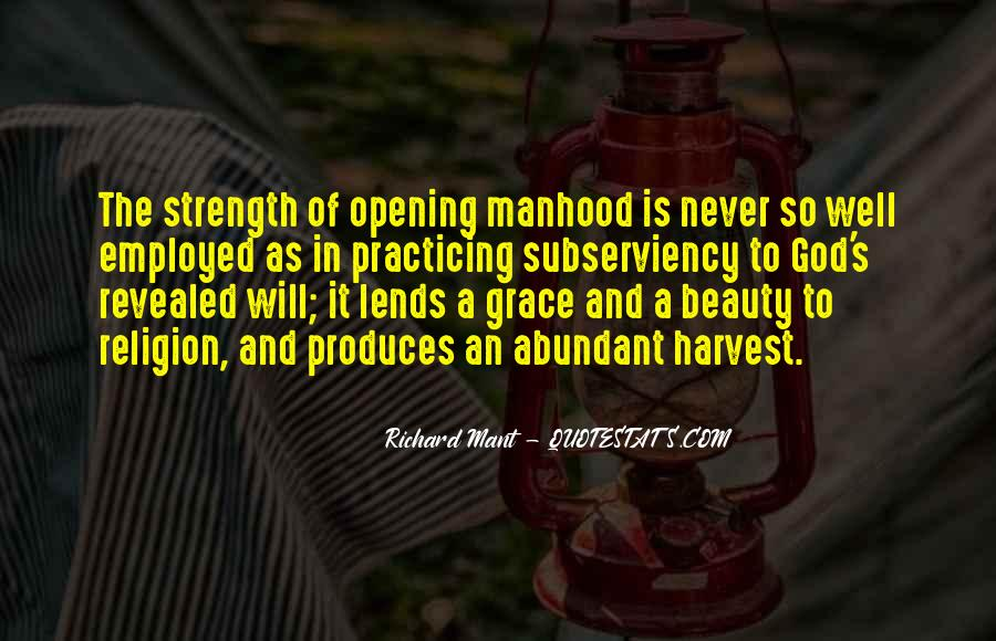 God Is The Strength Quotes #95305
