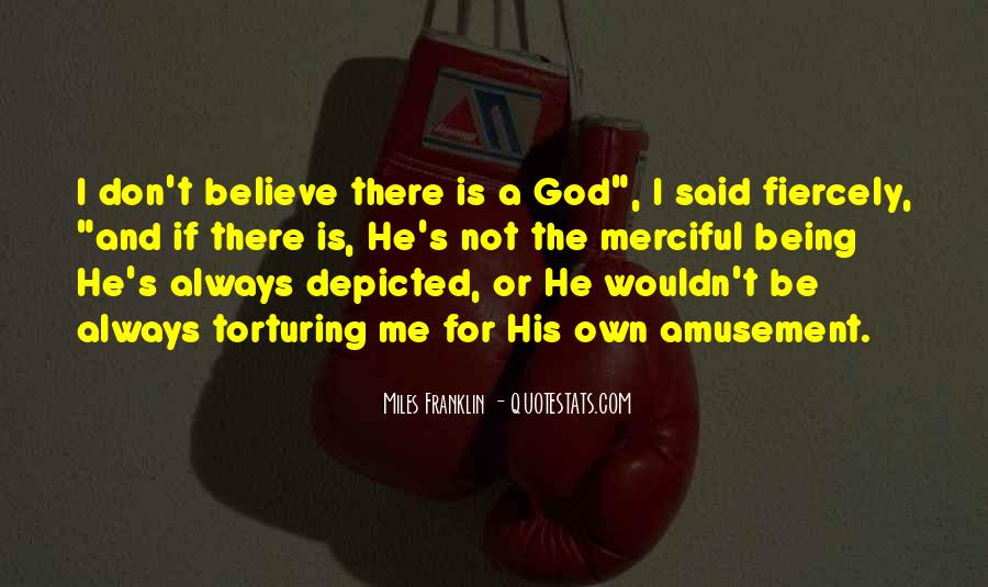 God Is There For Me Quotes #765282
