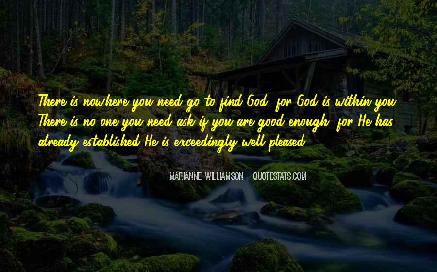 God Is There For You Quotes #378354