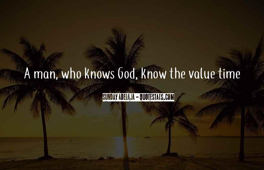 God Knows The Best For Us Quotes #12238