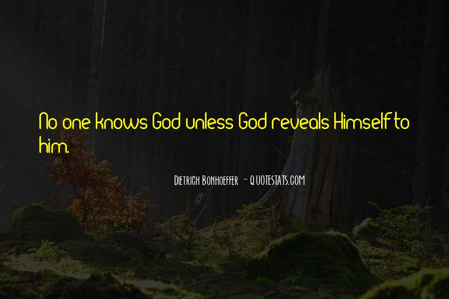 God Knows The Best For Us Quotes #19093