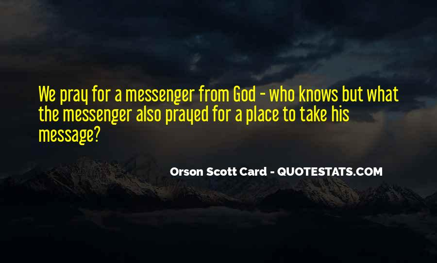 God Knows The Best For Us Quotes #19605