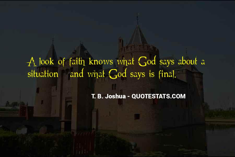 God Knows The Best For Us Quotes #50507