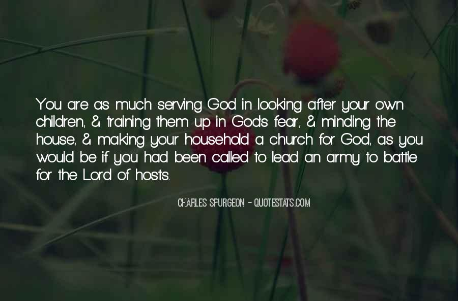 God Looking After Me Quotes #1230203