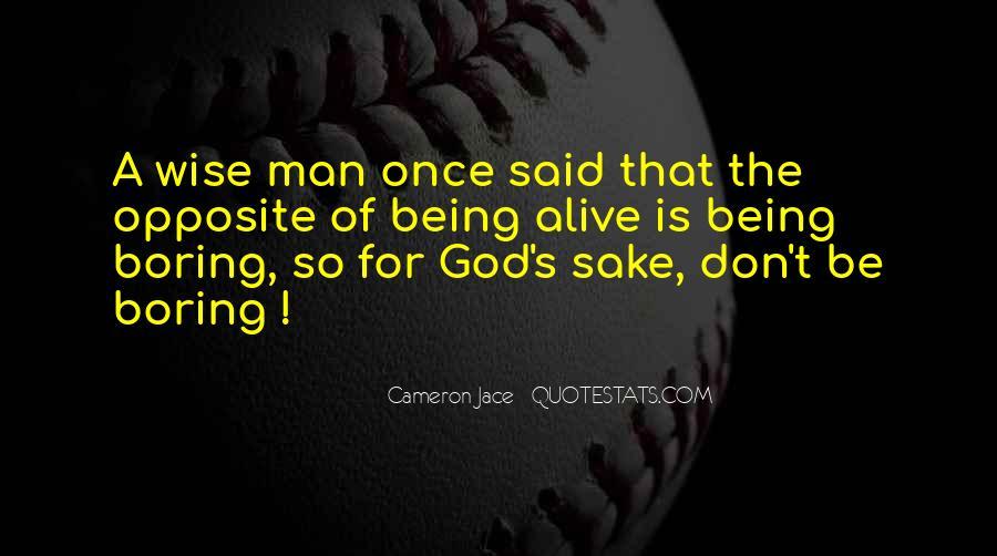 God Man Quotes #28538