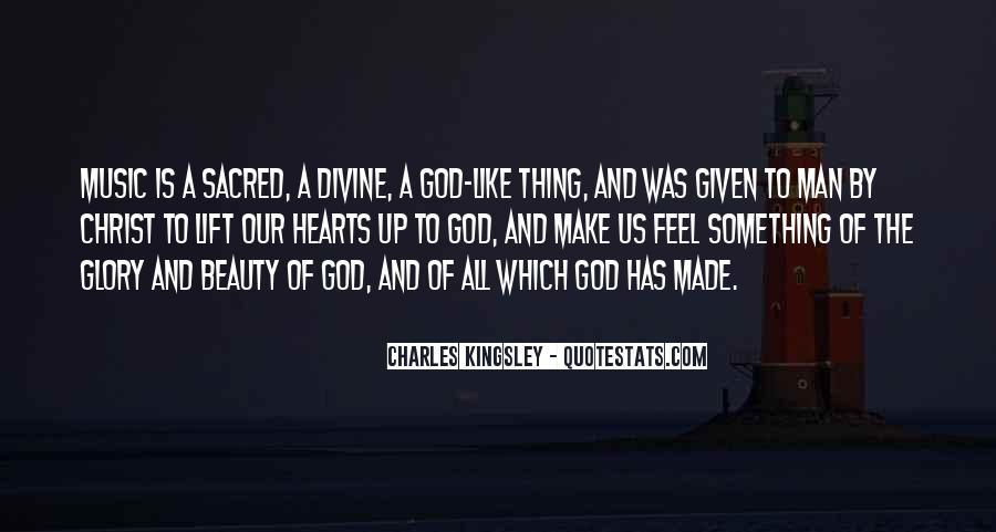 God Man Quotes #33839