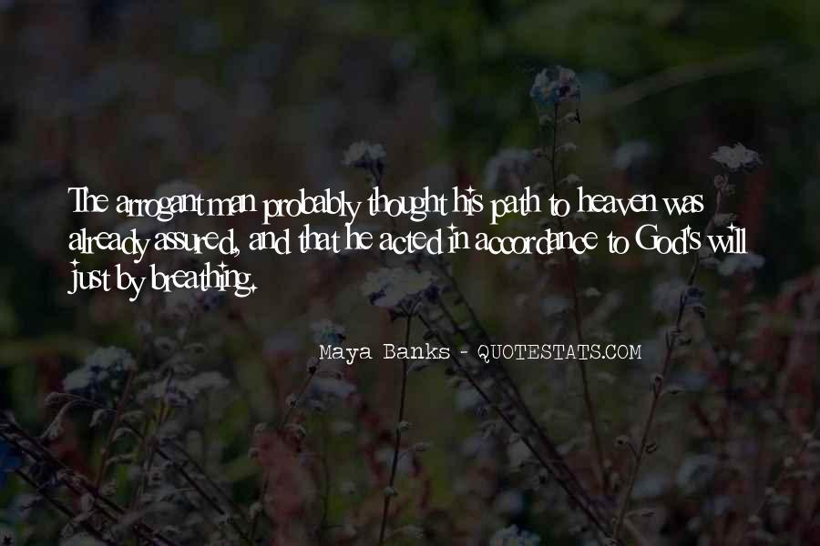 God Man Quotes #6431