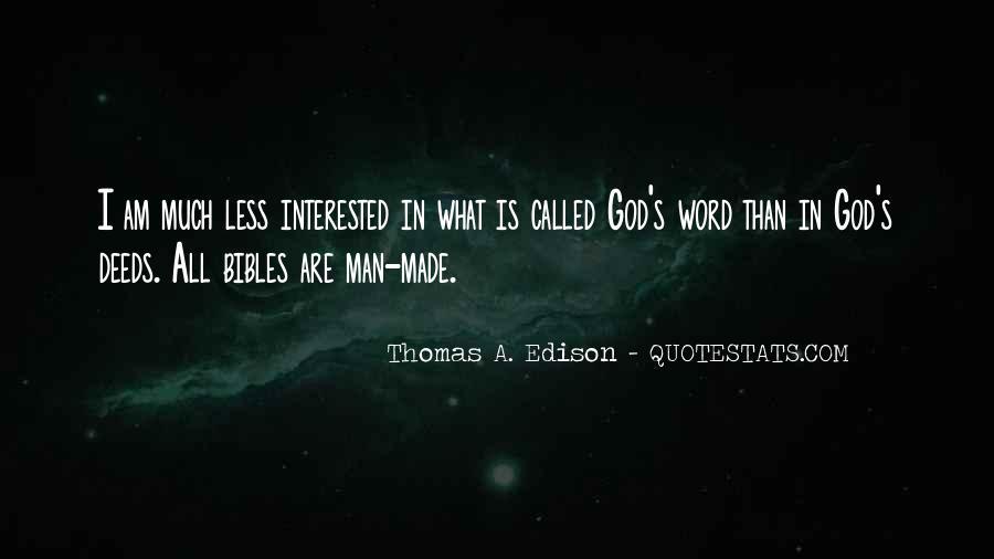 God Man Quotes #7415