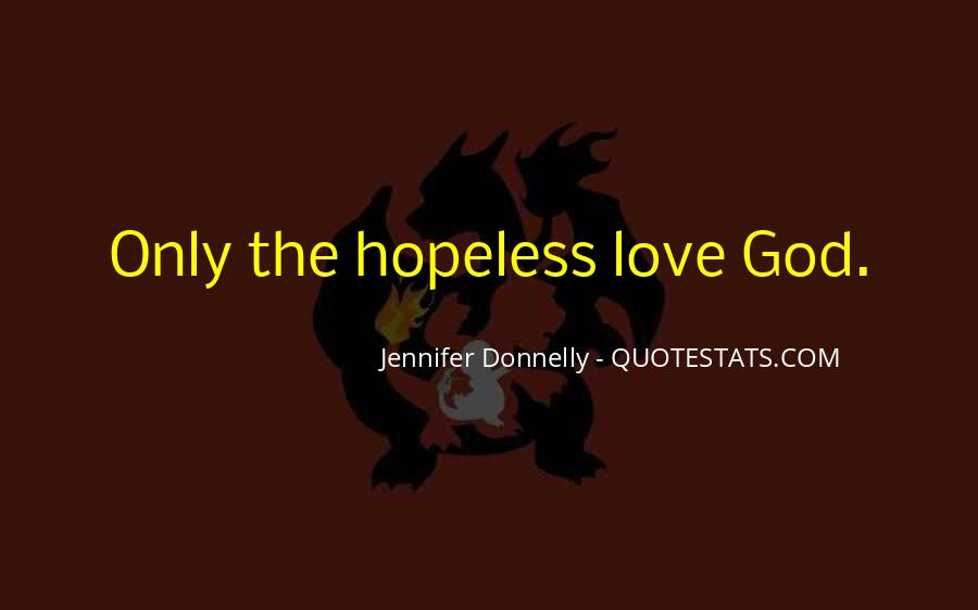 God Only Quotes #38421