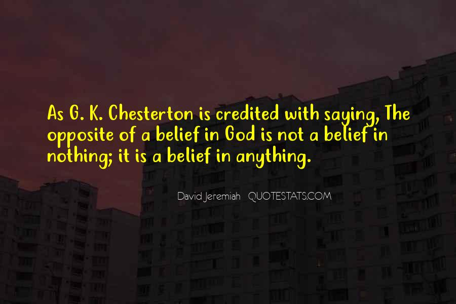 God Opposite Quotes #1079365