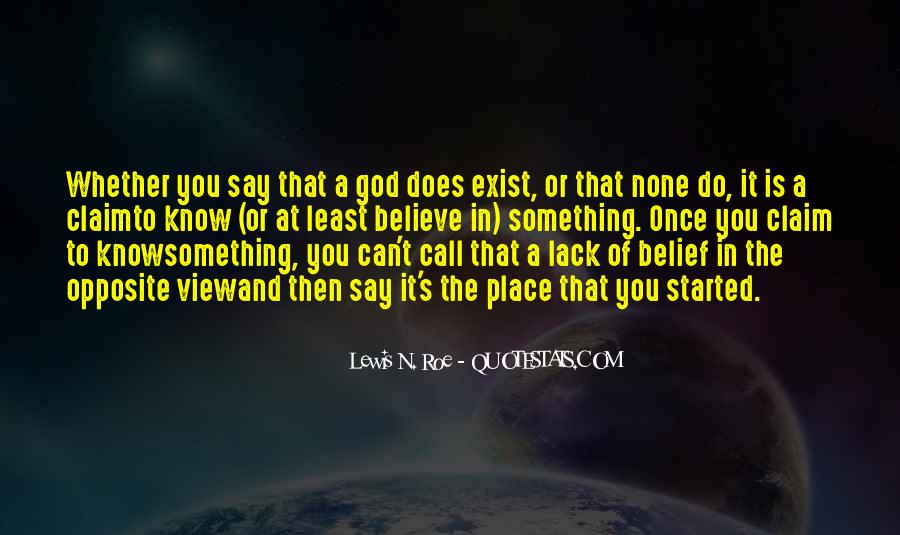 God Opposite Quotes #1118177