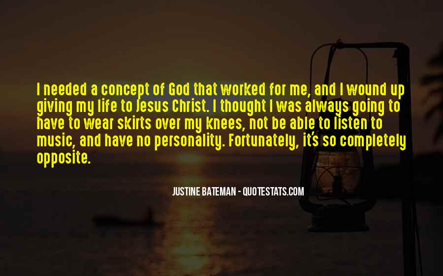 God Opposite Quotes #1125031