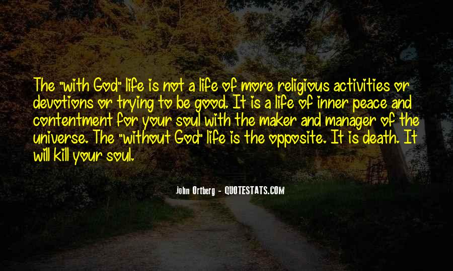 God Opposite Quotes #1305731