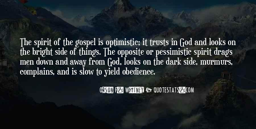 God Opposite Quotes #1458228
