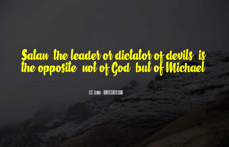 God Opposite Quotes #155715
