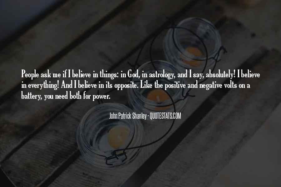 God Opposite Quotes #207220