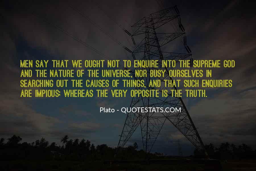 God Opposite Quotes #221555