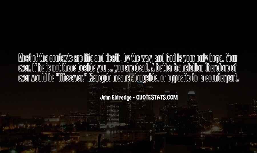 God Opposite Quotes #268020