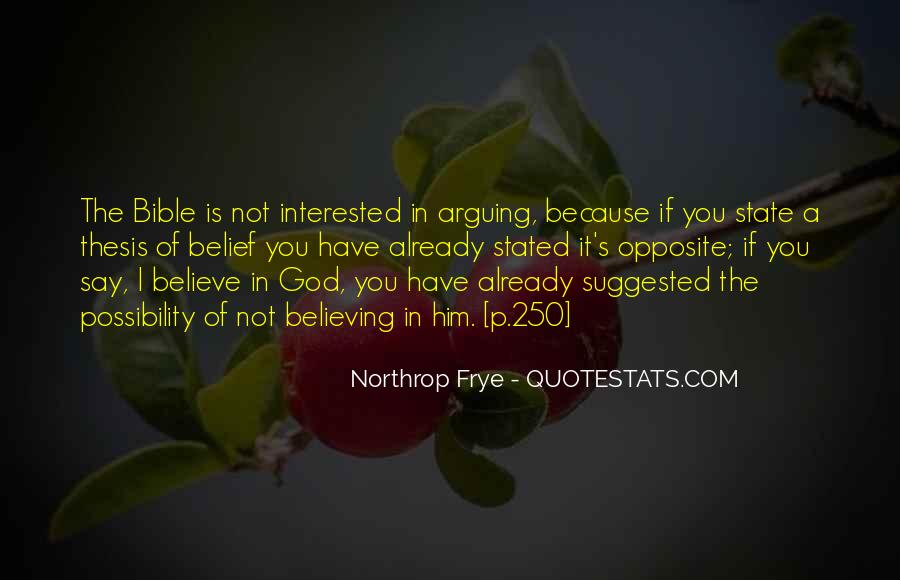 God Opposite Quotes #321507