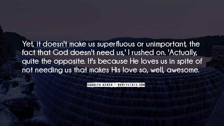 God Opposite Quotes #661354