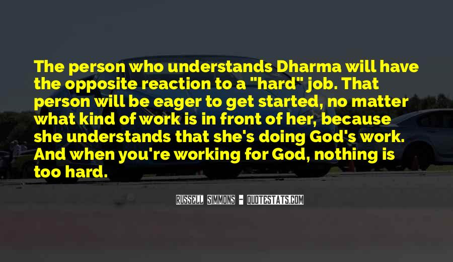 God Opposite Quotes #865081