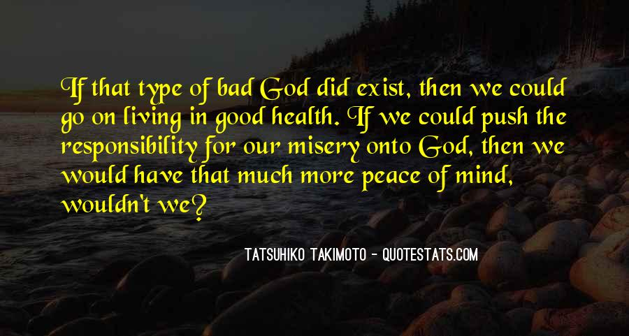 God Peace Of Mind Quotes #952706