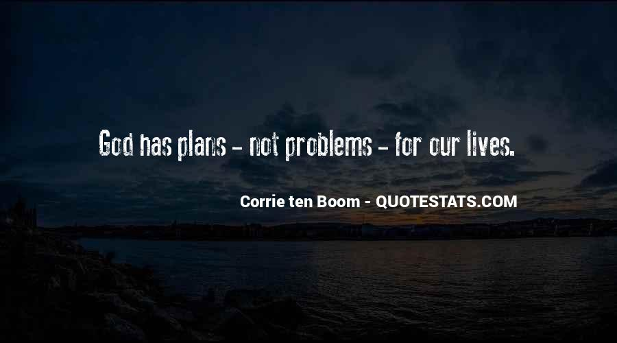 God Plans Our Lives Quotes #278437