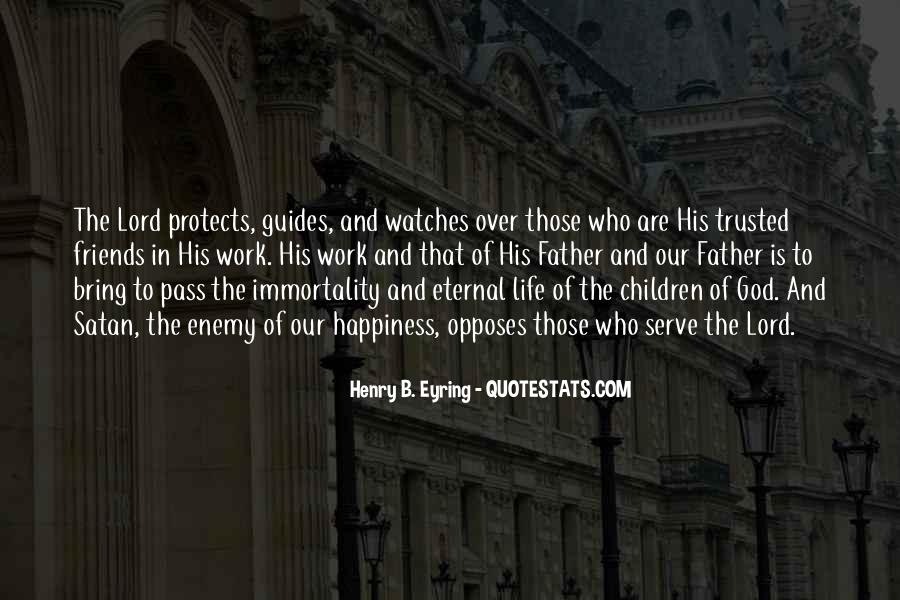 God Protects His Own Quotes #1251990