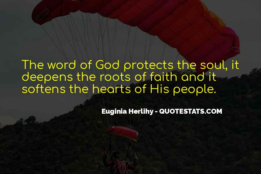 God Protects His Own Quotes #1337899