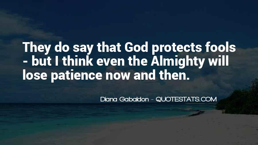 God Protects His Own Quotes #406216
