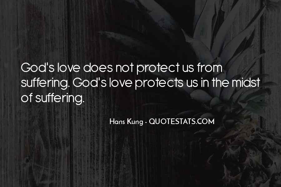 God Protects His Own Quotes #723732