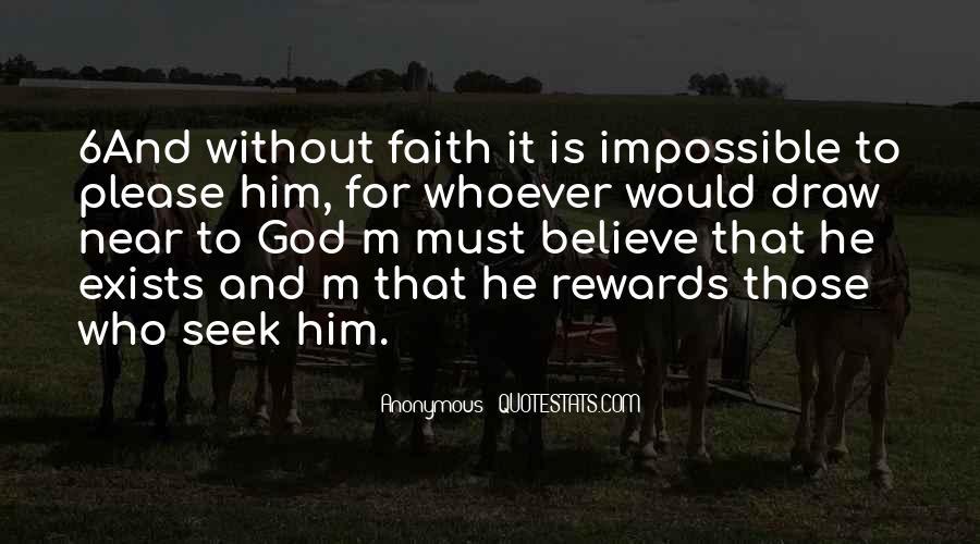 God Rewards Quotes #1035973