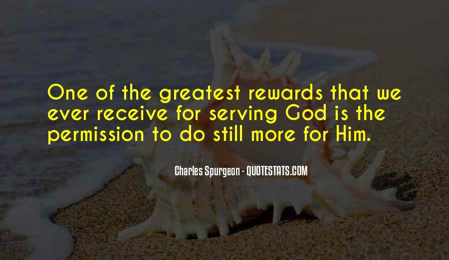 God Rewards Quotes #1072562