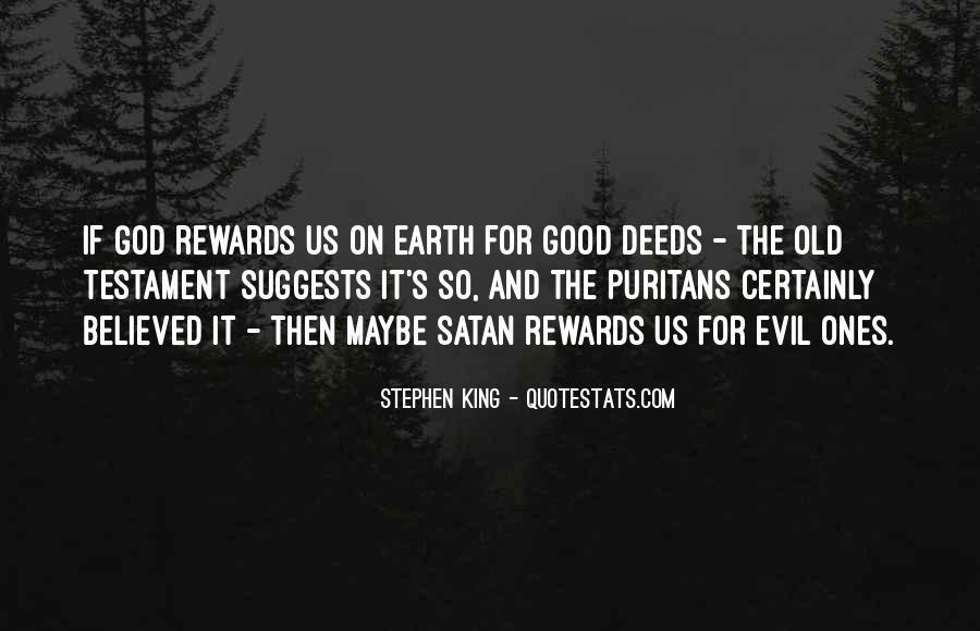 God Rewards Quotes #107685