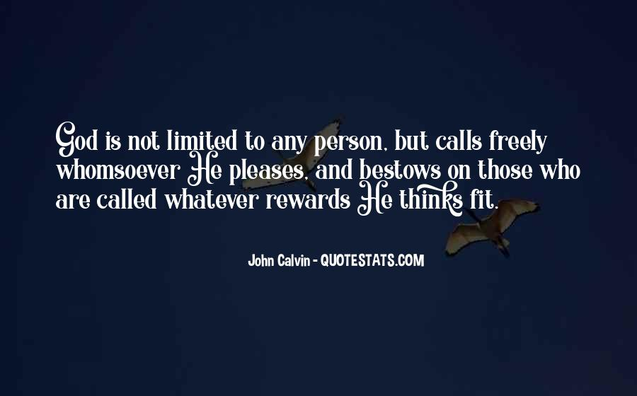 God Rewards Quotes #1102369