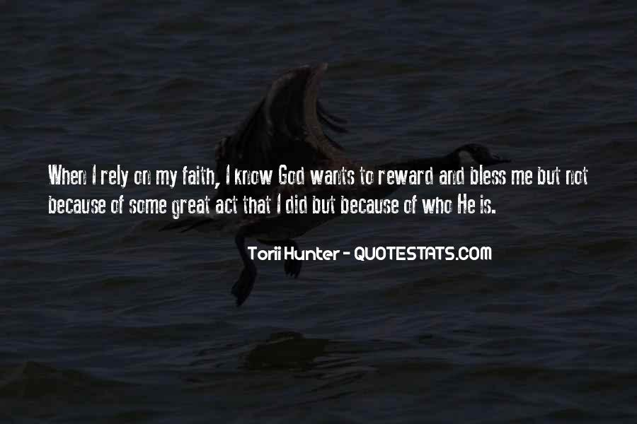 God Rewards Quotes #1123671