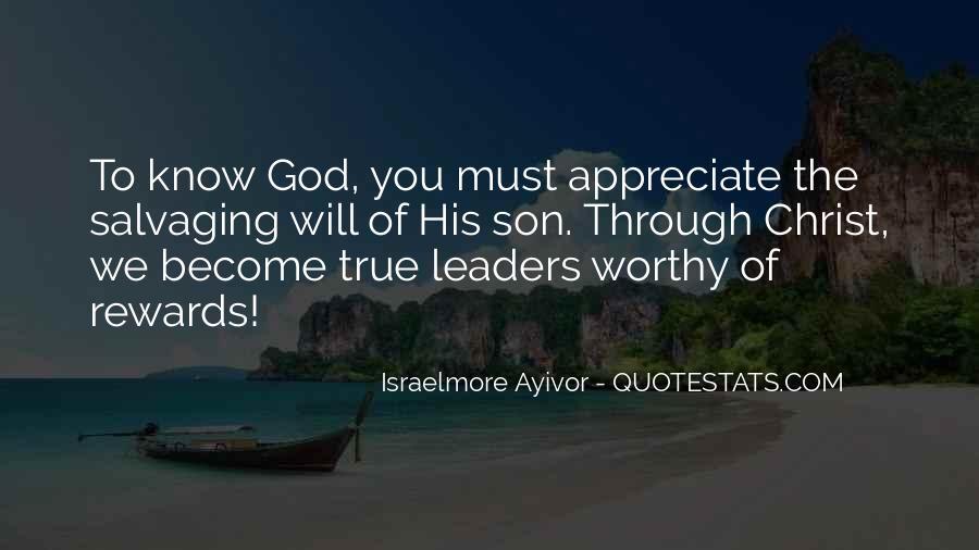 God Rewards Quotes #1292055