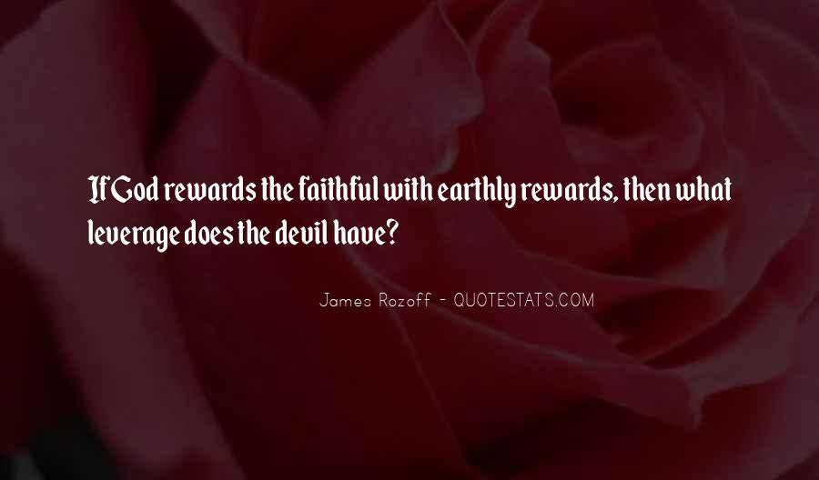 God Rewards Quotes #1357159
