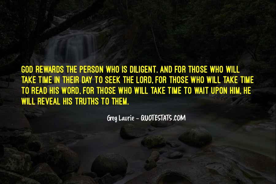 God Rewards Quotes #1367450