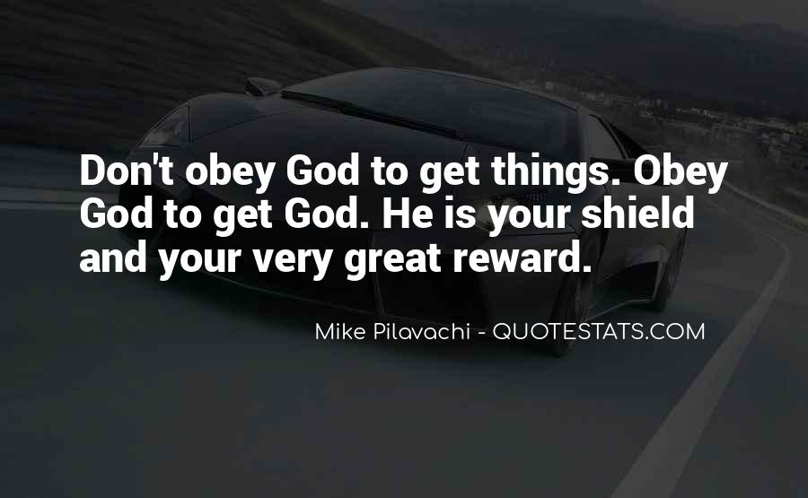 God Rewards Quotes #1440565
