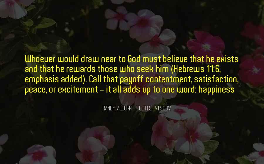 God Rewards Quotes #1510762