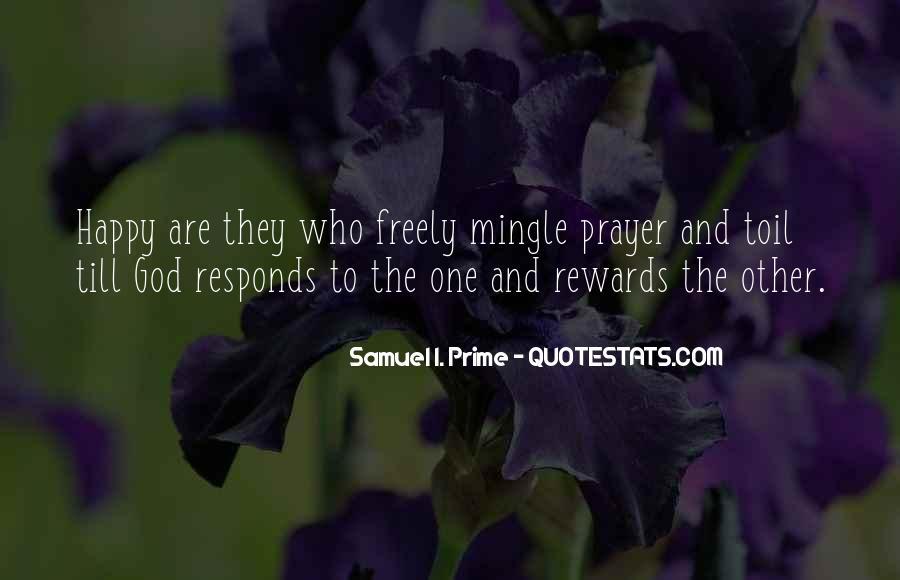God Rewards Quotes #1776383