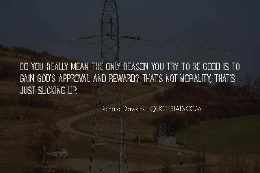 God Rewards Quotes #1844671
